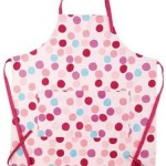 Miniamo Mother's Apron cotton Cooking Pink Apron