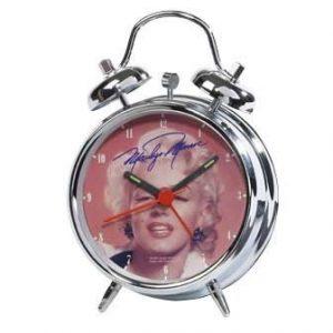 MARILYN MONROE ALARM CLOCK