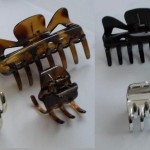 2 Packs Of 4 Claw Hair Clamps Clips