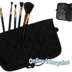 AVON 5pc cosmetic brush set make up kit