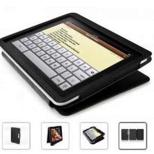 iLuv Ipad Protective 2-Way Leatherette Case