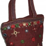 Girl's Indian Sari Style hand crafted Hand bag