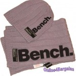 Bench Girls Lilac Knitted Fashion Hat & Scarf Set