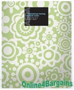 ASDA 122cmx43cm Drawstring Ironing Board Cover
