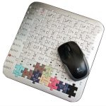 Magnetic Jigsaw Calendar & Mouse Pad Office Gadget