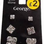 George earrings