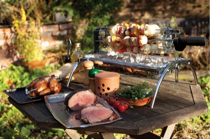 Battery Operated BBQ Rotisserie Motor for Cypriot Barbeques Grill