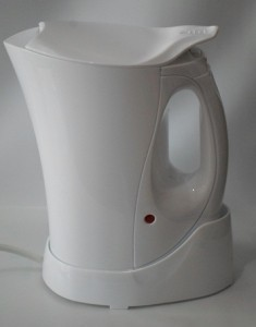 900W 1 litre Cordless Travel Jug kettle