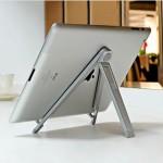 Compact Folding Aluminium 7'' Tablet Stand
