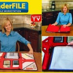 Wonderfile Portable Workstation paper Organiser