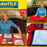 Wonderfile Portable Workstation paper Organiser