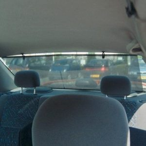 110cm Wide Universal Rear Window Sun Visor Blinds