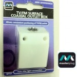 Masterplug tv fm coaxil box