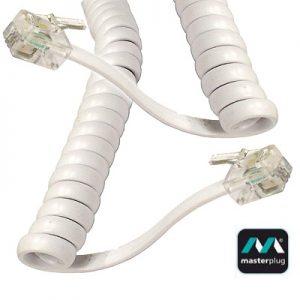 MASTERPLUG replacement phone handset cord