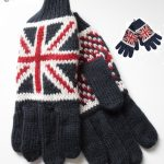 Young Division Union Jack Kids gloves