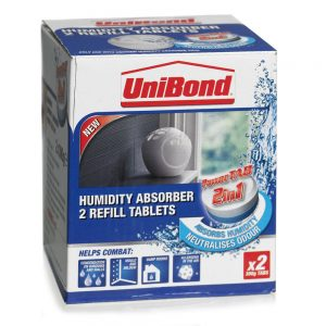 Unibond Humidity Absorber Refill Tablets 300g x 2