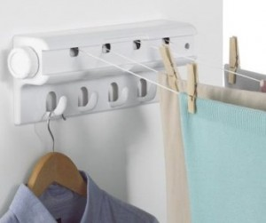 Wall Mounted Indoor Automatic Clothes Airer Drying Line