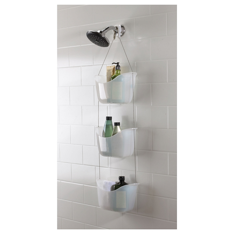 Hanging 3 Baskets Shower Caddy | Online4Bargains