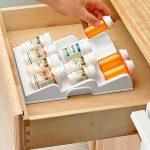 Expand-A-Drawer Medicine & Spice Bottles Organizer