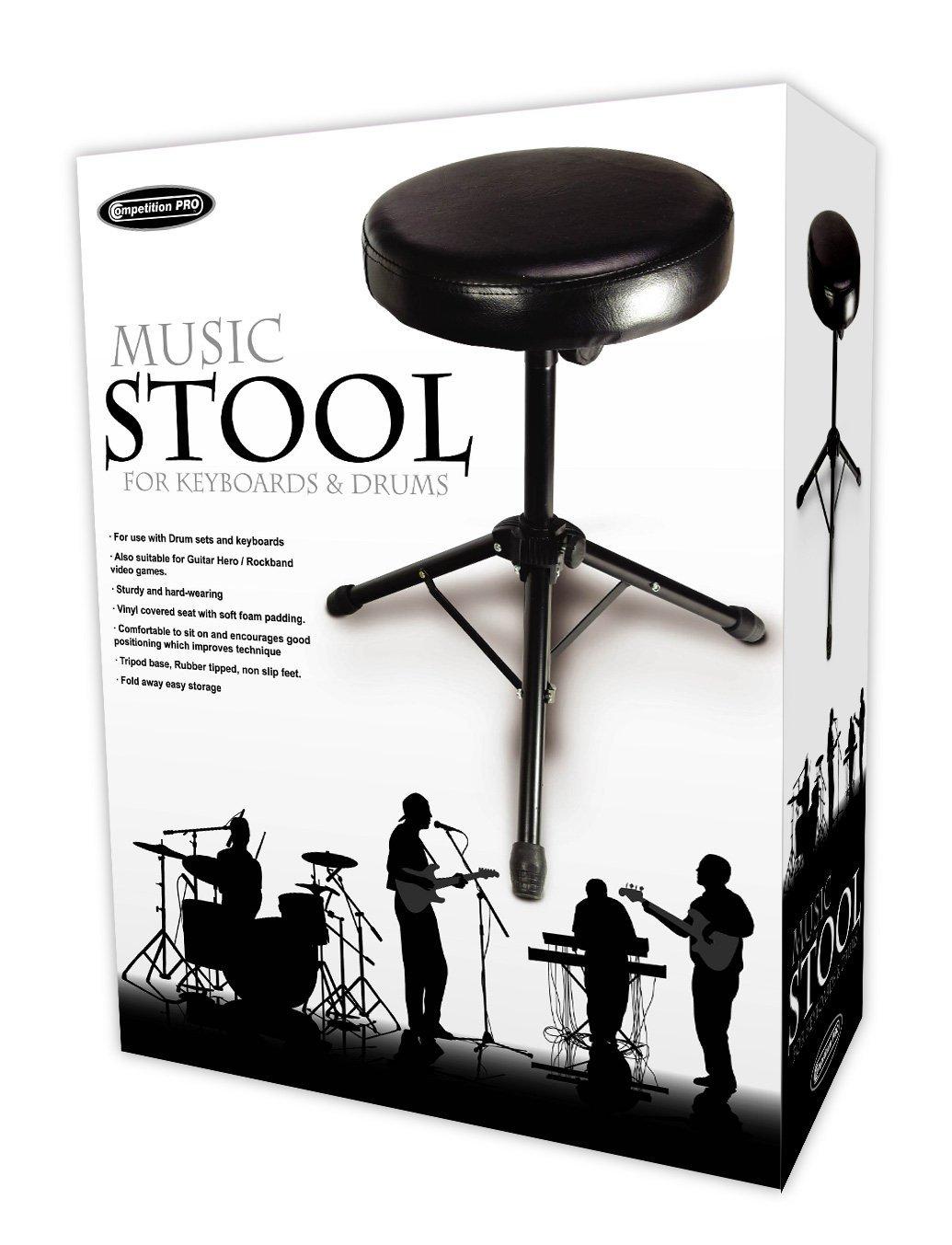 Competition Pro Multi Purpose Folding Music Stool