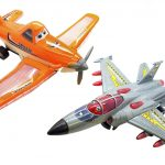 Light & Sound Bump & Go Battery Operated Toy Aeroplanes