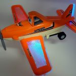 2x Light & Sound Bump & Go Battery Operated Toy Aeroplanes