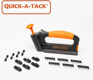 Quick-A-Tack Multi-purpose tool for hanging objects on the wall