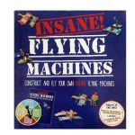 Insane Flying Machines Board Game Make Construct Planes /Parragon Books
