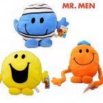 Mr. Men The Big Match 3x 10cm Plush Soft Toys