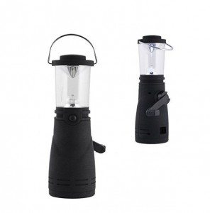 ENZO Camping LED Wind Up Lantern Torch/Lamp