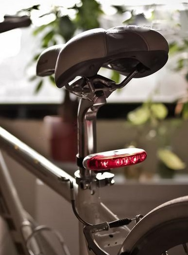 LED Battery Operated Rear Brakes Light with fixings