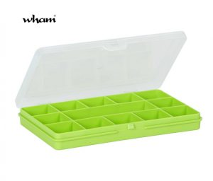 Wham 17cm with 13 Divisions Organiser Box