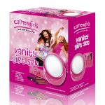 Carmen girls C85002 Vanity Brush Gift Set with mirror and light