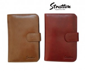 Stratton Branded Luxury Italian Leather ladies wallet and a purse