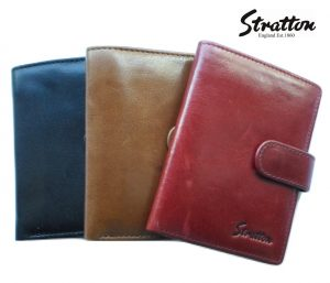 Stratton Branded Luxury Italian Leather Gent's wallet