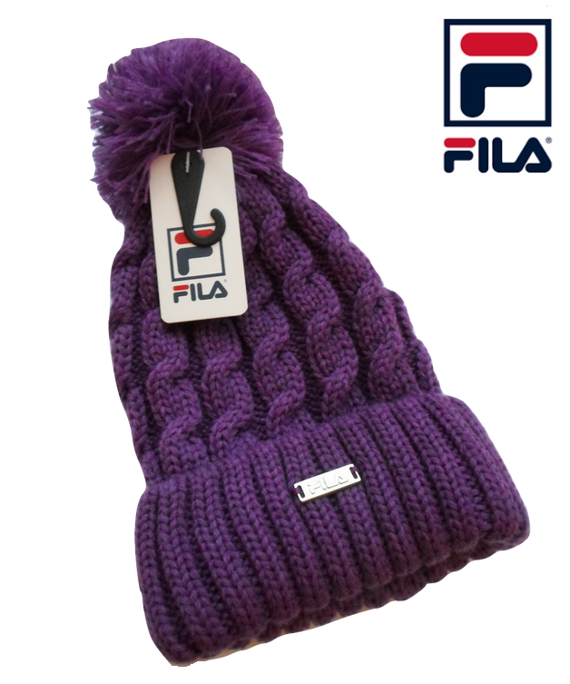 Fila Knitted Bobble Hat  38186aef79b