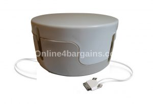 Large Round Cable Tidy Box .Office Living room Wire Management Organiser Caddy