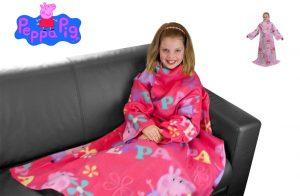 Character World Peppa Pig Adorable Sleeved Fleece Blanket
