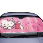 Hello Kitty Car Window Windscreen Sun Shade Protector Shield