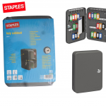STAPLES 42 Hooks Metal Key storage cabinet box. Keystore Key safe Safe box