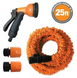 Stretch Hose Self- Expanding 25ft Stretch Hose & Spray Gun