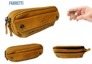 FABRETTI Real leather Ladies purse