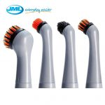 JML Turbo Brush Sonic Scrubber Cleaner Pack of 4 Replacement Heads