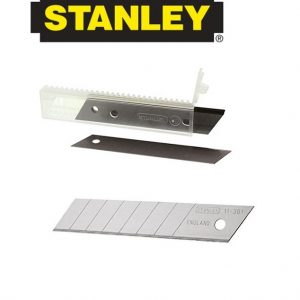 Stanley Replacement Stanley knife Snap Off Blades Pack (10)