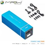 MiPow Power Tube 5500 Portable power Bank Emergency battery charger