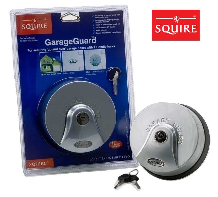 Henry Squire Garage Guard T Handle Protector Lock