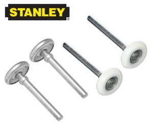 Stanley Replacement Heavy Duty Garage Door Steel Rollers Pack of 2