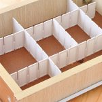 6pc Grid-Slot Drawer Organiser Cut To Fit Plastic Dividers