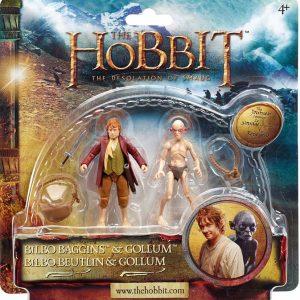 The Hobbit Adventure Pack Wave 2 Bilbo and Gollum
