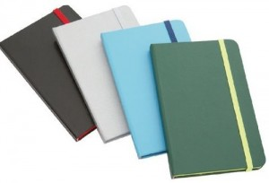 LAUTREC Handy Green Notebook & matching elastic closure